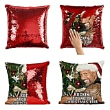 Dwayne Johnson Christmas Pillow