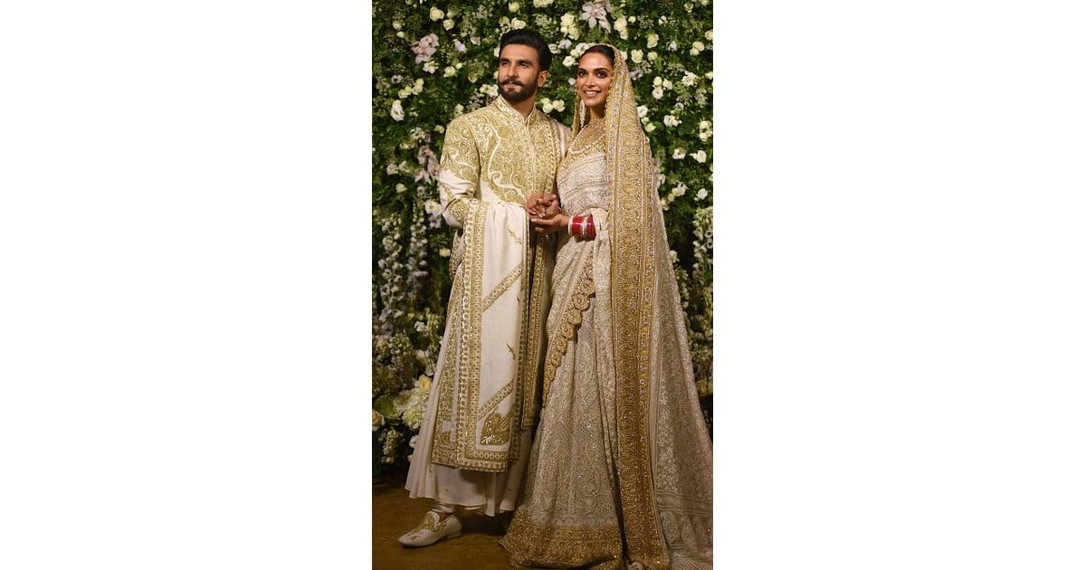 For their reception in Mumbai, Deepika wore a breathtaking ...