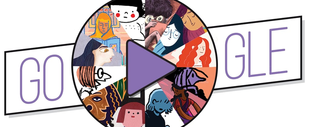 The International Women's Day Google Doodle Features 12 Female Artists From Around the World