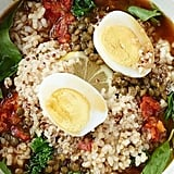 Lentil Quinoa Bowl With Cage-Free Egg