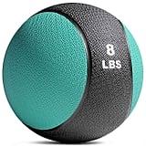 Titan Fitness 8-Pound Weighted Medicine Ball