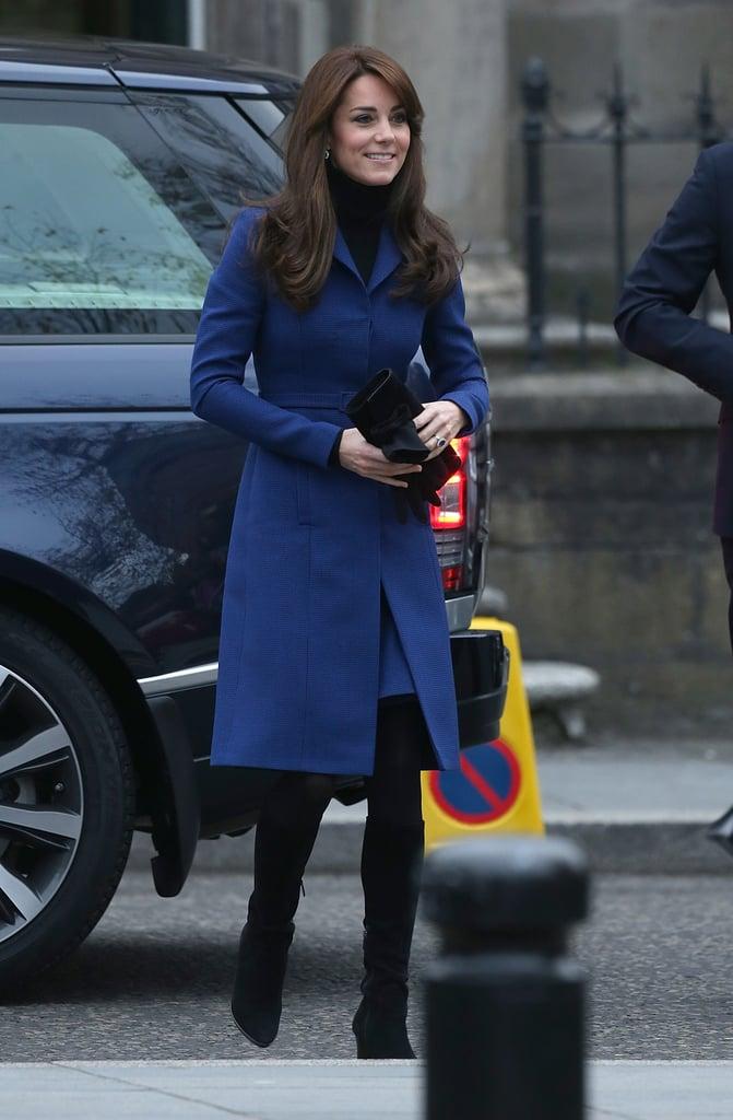 Kate Middleton in Christopher Kane Car Coat