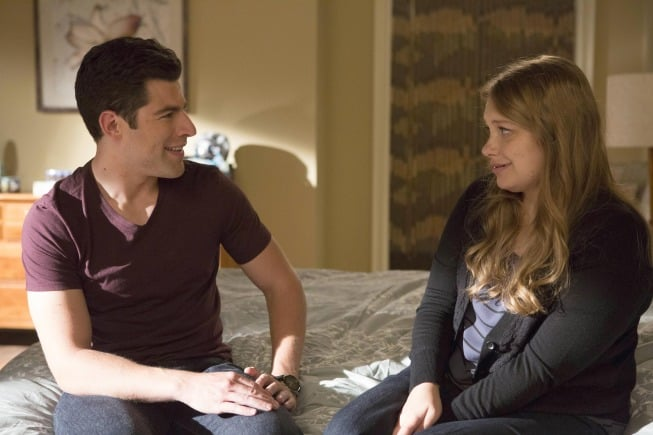 New Girl But then Schmidt and Elizabeth (Merritt Wever) share a moment. What's going on here?