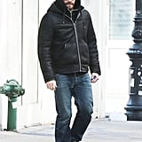 Jake Gyllenhaal covered up before hitting the NYC streets on Friday.