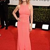 Kyra Sedgwick at the Golden Globes 2014