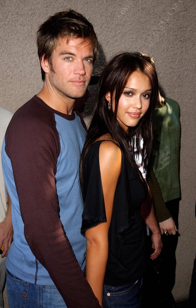 Jessica Alba and Michael Weatherly, 2001 | Couples at Teen ...