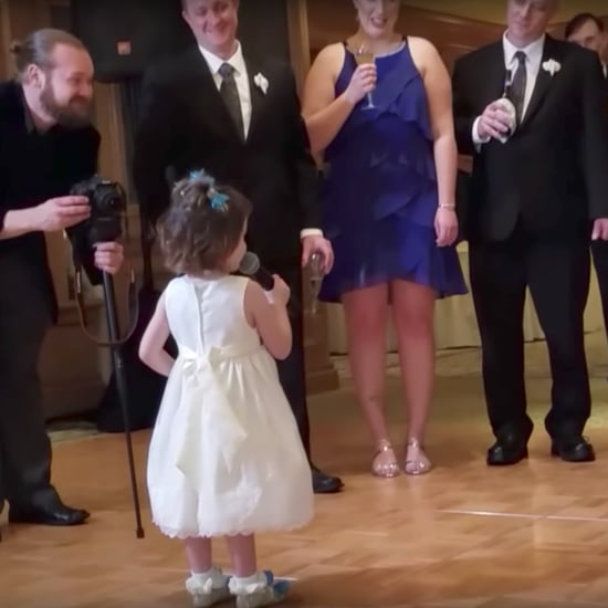 Little Girl's Wedding Toast