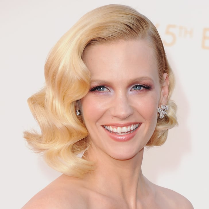 Fete January Jones's Birthday With Her Best Makeup Moments