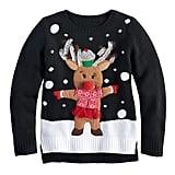 Rudolph Pom Pom Nose Sweater