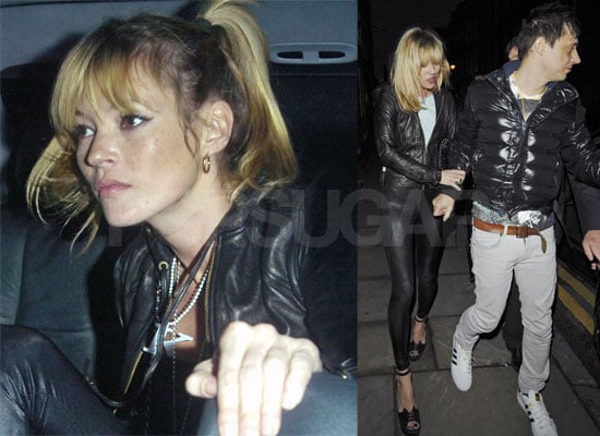 Kate Moss Celebrates Davina Taylor's 30th Birthday with a 1980's Theme Party