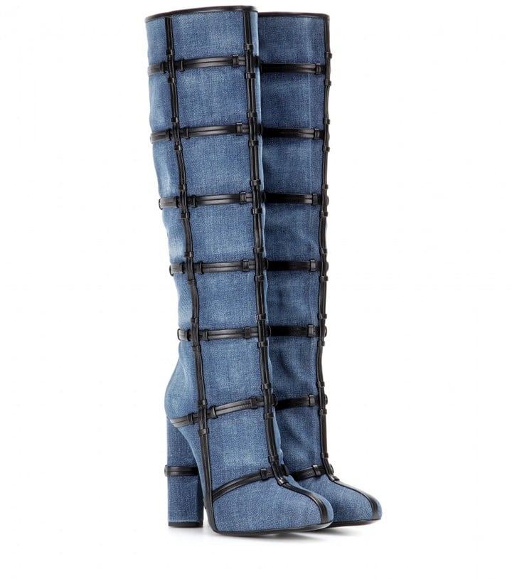 Tom Ford Patchwork Knee High Boots ($2,690)