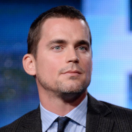 Matt Bomer's New Buzz Cut Hairstyle | 2014