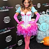 Christina Milian opted for a cute cupcake costume in 2012.