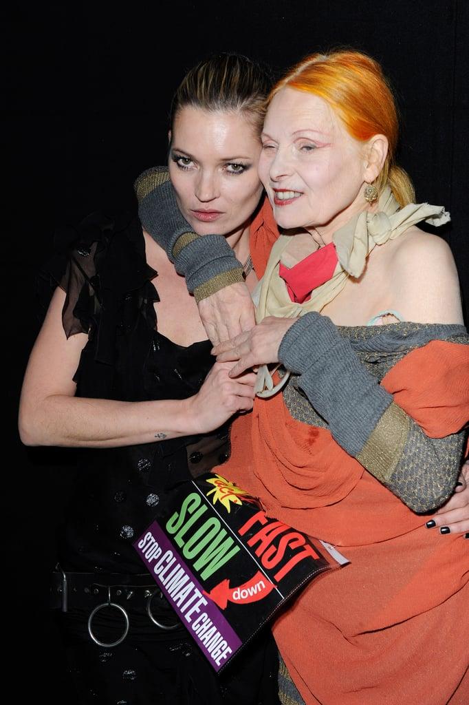 Kate Moss, Vivienne Westwood