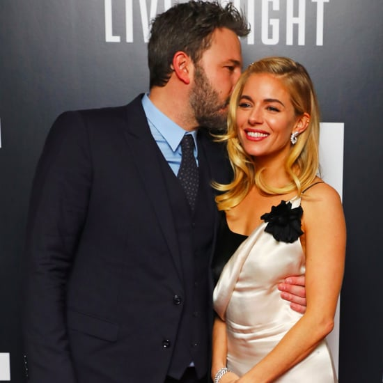Ben Affleck Kisses Sienna Miller Live by Night UK Premiere