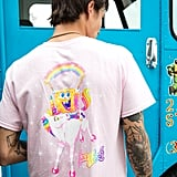 Lisa Frank x SpongeBob Guys Pink Pocket Tee ($23)