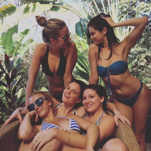 Selena Gomez Bikini Photo on Instagram January 2016