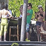 Stacy Keibler Bikini Pictures With George Clooney in Mexico