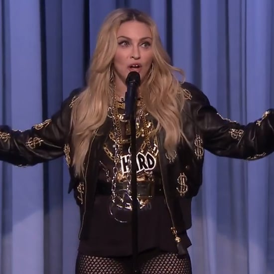Madonna's Stand-Up Comedy on The Tonight Show   Video