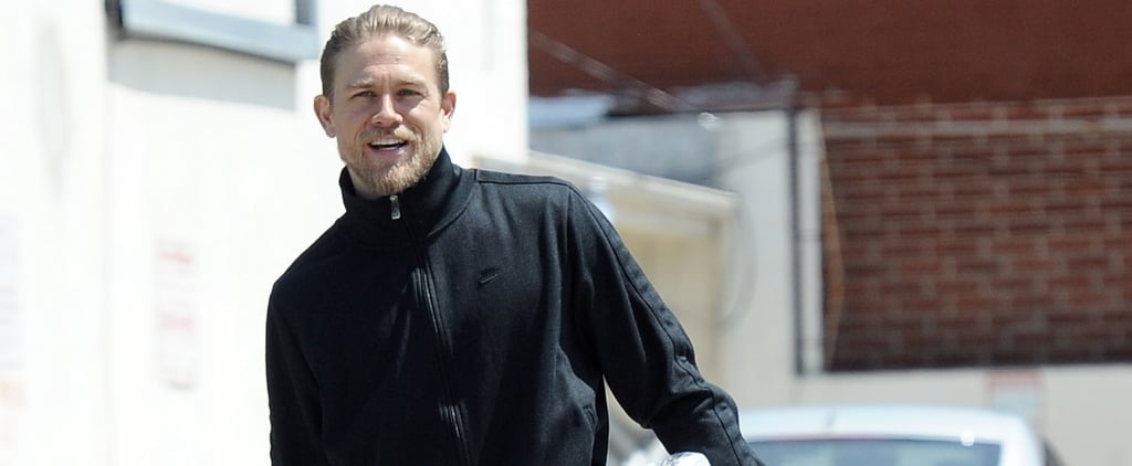 Charlie Hunnam Shows Off His Sexy Scruff During an Outing in LA