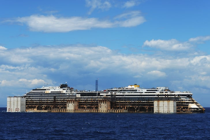 Two Years Later, the Sunken Costa Concordia Ship Is Making Its Final Trip