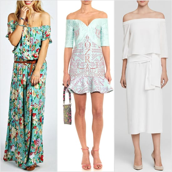 Best Off-the-Shoulder Dresses and Tops For Spring 2015