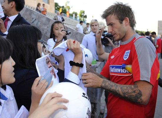 5/6/2009 David Beckham in Kazakhstan