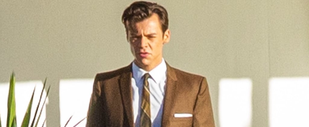 Harry Styles, Florence Pugh Don't Worry Darling Set Photos