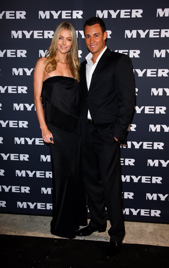 Jennifer and Jake dressed up for Myer's Winter fashion launch at LMFF in Melbourne in March 2008.