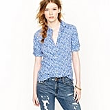 A pretty floral blouse from J.Crew featuring a Liberty London print.  J.Crew Liberty London Printed Blouse ($150)