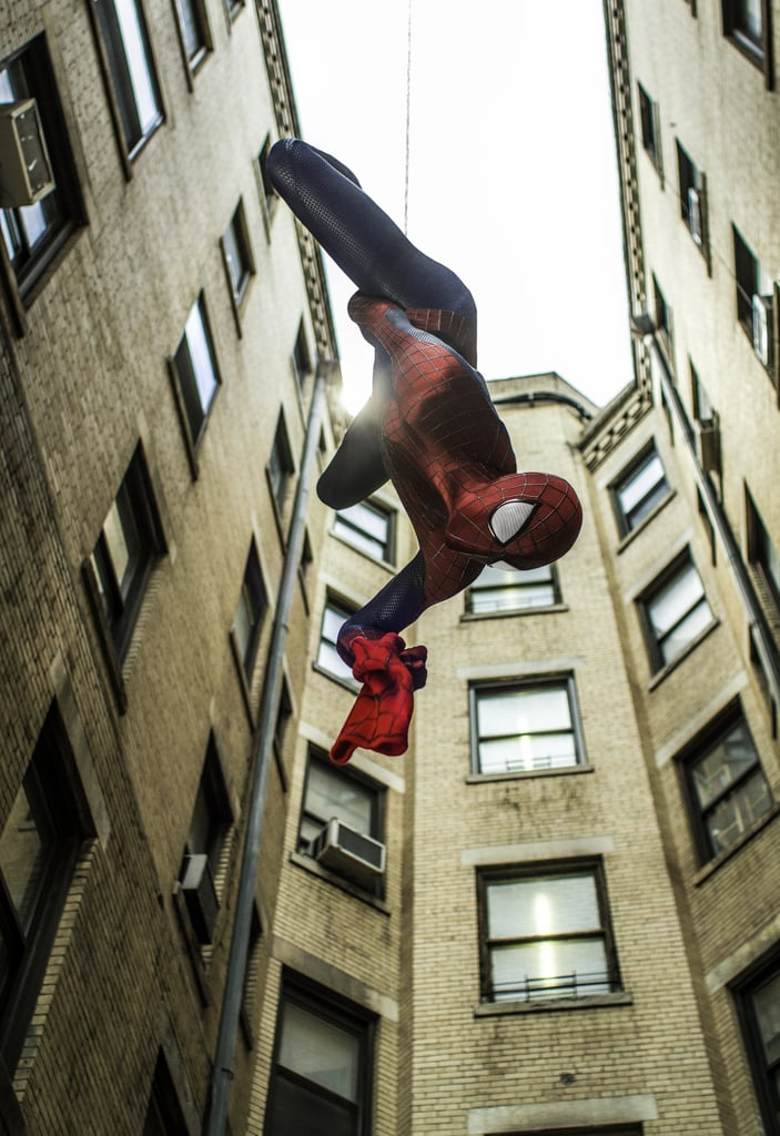 The web-slinging looks as cool as ever.