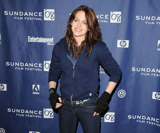 Kristen Stewart posed at The Yellow Handkerchief premiere in 2008.