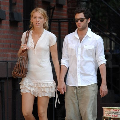 Penn Badgley and Blake Lively Take a Stroll in NYC