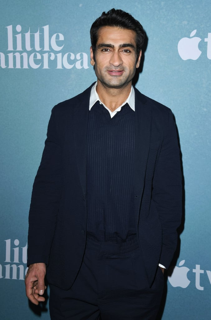 There's something about thick eyebrows, lush facial hair, and a man who knows how to use both of them to his advantage that you have to appreciate. Kumail Nanjiani is one of those men, and to make the deal even sweeter, he's a dynamic actor and comedian as well! The 42-year-old has been in the Hollywood scene since 2008, but he's most notably known for his role as Dinesh Chugtai on HBO's comedy series Silicon Valley, cowriting and costarring in the romantic comedy The Big Sick (written about his relationship with wife Emily V. Gordon), and his upcoming introduction to the Marvel Cinematic Universe as Kingo Sunen in The Eternals. So yeah, you can say he's well-known for his acting chops, but there's no denying his good looks. The actor caused some serious cases of whiplash in December 2019 when he revealed his superhero transformation in preparation for The Eternals — because hot damn did he get sculpted — but he was handsome way before he gained the chiseled physique of a Marvel hero. Check out some of his best photos ahead and think about how thankful you are that he's using that jawline and those expressive eyebrows for good.       Related:                                                                                                           Issa Rae and Kumail Nanjiani's The Lovebirds Skips Theatrical Debut For Netflix Release