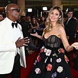 Pictured: Terry Crews and Heidi Klum