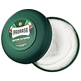 Proraso Shaving Soap in a Bowl — Refreshing and Toning Formula