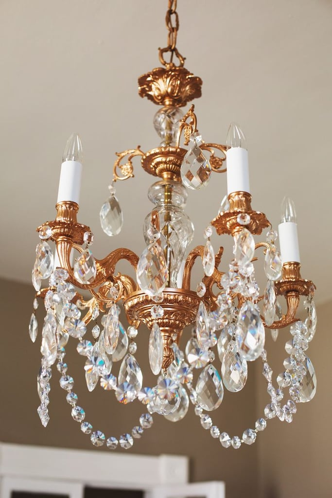 Restyled Copper Chandelier