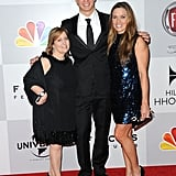 Nathan Adrian posed with Dina Gerson and natalie Coughlin.