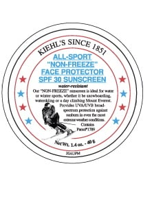 Kiehl's All-Sport Non-Freeze Face Protector review