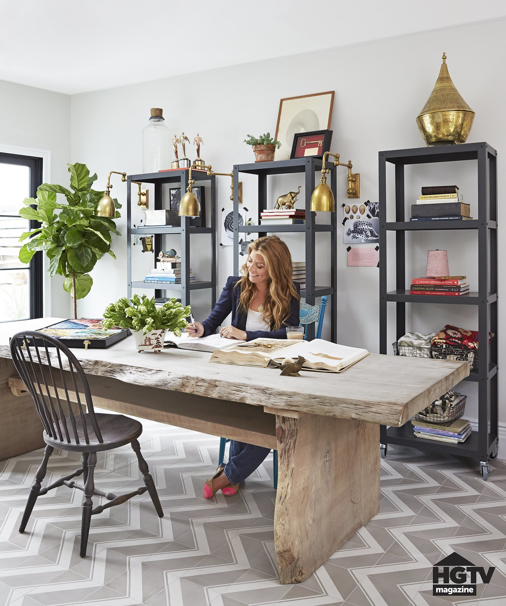 statement making desks beautiful home offices ways