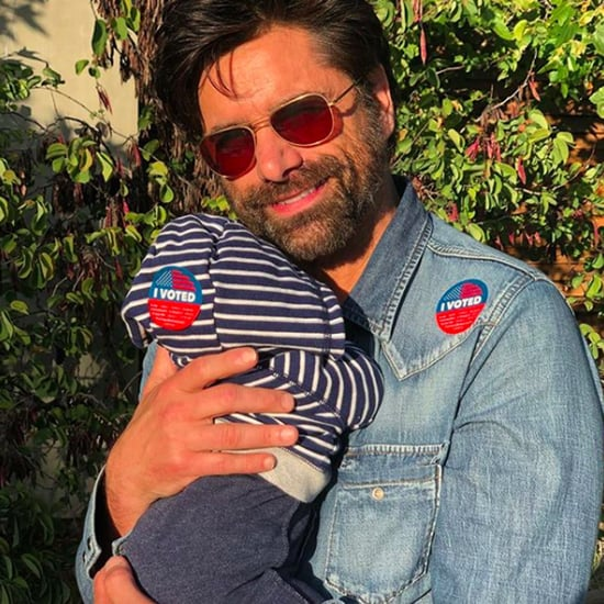 John Stamos Tweets About Waking Baby Son