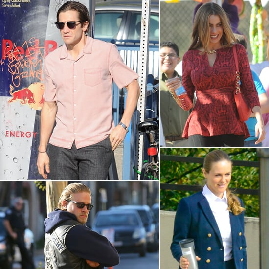 Celebrities on the Set | Week of Oct. 18, 2013