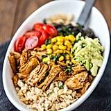 Meal Prep Chicken Burrito Bowl