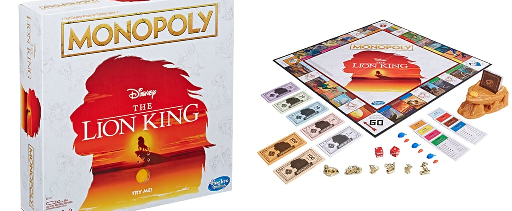 Lion King Monopoly Game