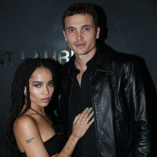 Zoë Kravitz and Karl Glusman Paris Fashion Week 2019 Photos