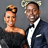 Ryan Michelle Bathe and Sterling K. Brown at the 2020 NAACP Image Awards