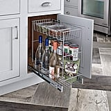 ClosetMaid Premium Wide 3-Tier Compact Kitchen Cabinet Pull-Out Basket