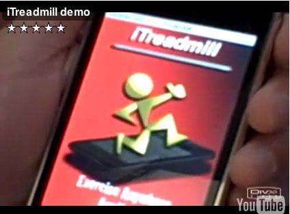Photos of iTreadmill App