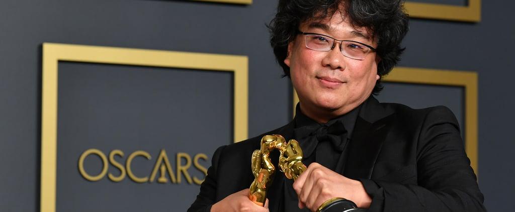 Bong Joon-Ho Strikes Hilarious Poses With His Oscars