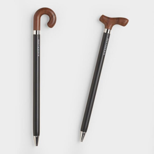 Old and Wise Cane Pens Set of Two
